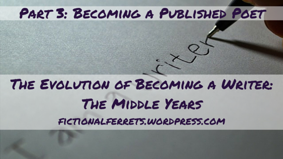 The Evolution of Becoming a Writer 3