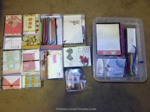 stationery organized